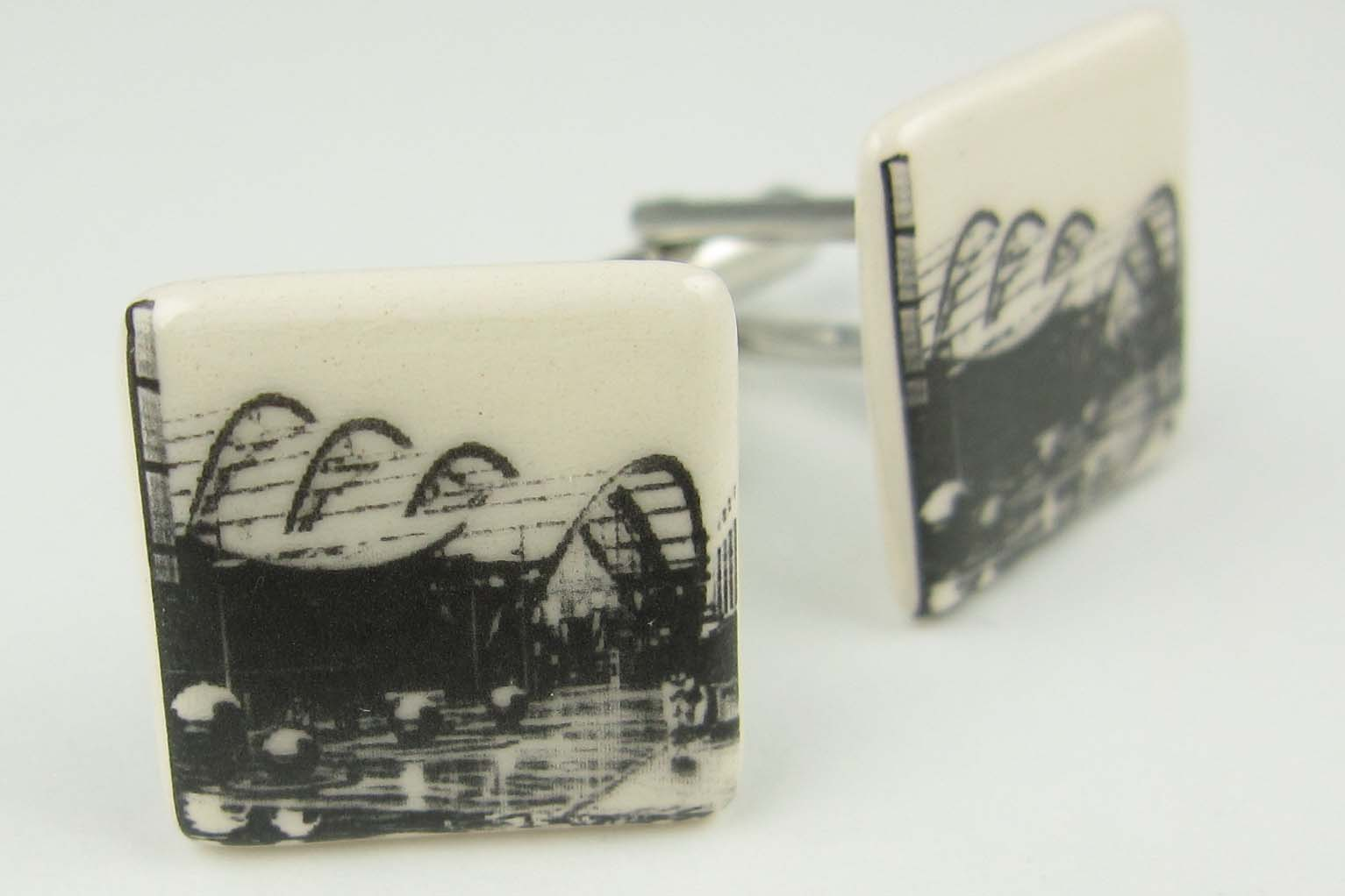 allison wiffen ceramics iconic sheffield cufflinks